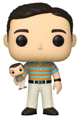 Pop! Vinyl--40 Year Old Virgin - Andy with Oscar Goldman Doll (with chase) Pop! Vinyl
