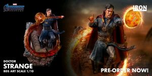Tenth Scale Statues--Avengers 4: Endgame - Doctor Strange 1:10 Scale Statue