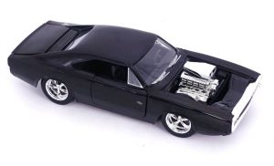 Diecast Figures--Fast and Furious - 70 Dodge Charger 1:24 Scale Hollywood Ride