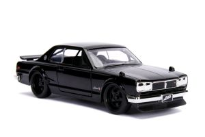 Diecast Figures--Fast & Furious - Brian's '71 Nissan Skyline 2000 GT-R 1:32 Scale Hollywood Ride