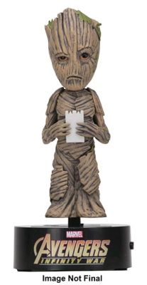 Bobble Heads--Avengers 3: Infinity War - Groot Body Knocker