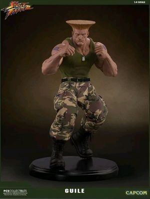 Other Statues--Street Fighter - Guile 1:4 Statue