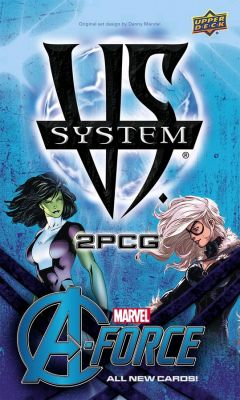 Card Games--Marvel Vs System - A-Force 2PCG