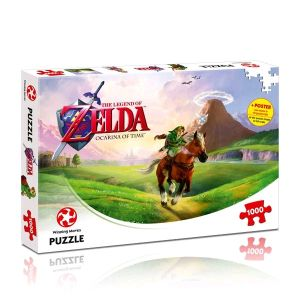Puzzles--The Legend of Zelda - Ocarina of Time 1000 Piece Puzzle