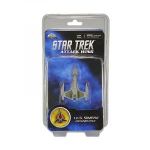 Miniatures Games--Star Trek - Attack Wing Wave 3 IKS Somraw Expansion Pack
