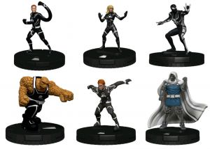 Wizkids Games--Heroclix - Future Foundation Fast Forces 6-pack