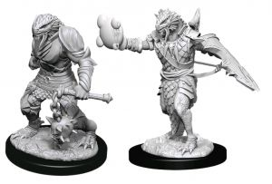 Miniatures--Dungeons & Dragons - Nolzur's Marvelous Unpainted Minis: Male Dragonborn Paladin
