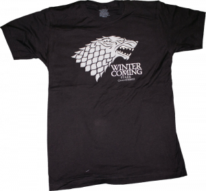 Ikon Collectables--Game of Thrones - Stark Winter Male T-Shirt S