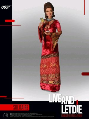 1:6 Scale Figures--James Bond: Live and Let Die - Solitaire 12