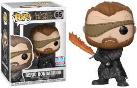 Funko - Game of Thrones - Beric Dondarrion with Flame Sword Pop! Vinyl